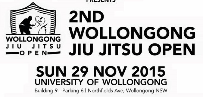 Brackets for 29th November Wollongong Comp